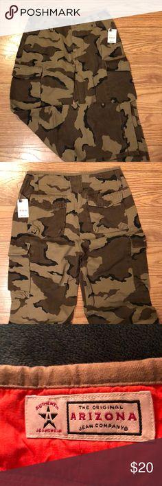 8660de2e58087 Men's Camo Jeans Arizona Brand Men's Camo Brown Jeans Size- 31 X 32 Brand  New