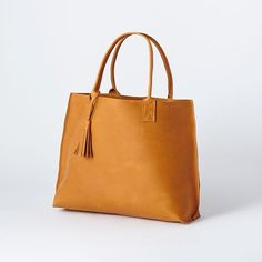 Bubo Handmade - Everyday Leather Tote Bag