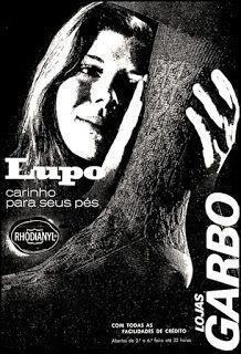 Anúncios anos 70 - Oswaldo Hernandez: Anúncios dos anos 70 de diversos produtos e serviços.