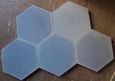 Old style hexagonal tiles in gorgeous hues that lend a modern yet vintage appeal.