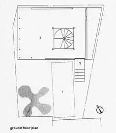 Ground floor plan. Japanese miniature Ryan, Raymund The Architectural Review; Jul 2001; 210, 1253; ProQuest pg. 34