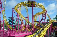 To ride all of the best roller coasters in the world...WOW!! Hey's it's a bucket list :)