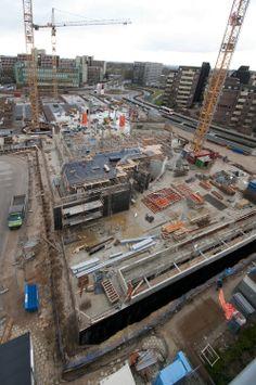 Voortgang bouw noord wk 8/2014