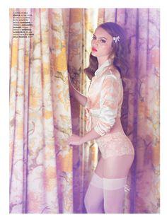 lady retro: paloma passos by eduardo rezende for marie claire brasil august 2013 #fashion #photography #editorial
