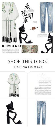"""Kimono"" by makeupgoddess ❤ liked on Polyvore featuring Matthew Williamson, rag & bone and Neiman Marcus"