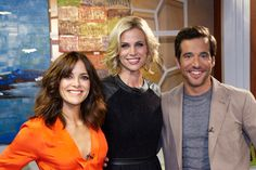 Brooke Burns was on set of The Better Show!
