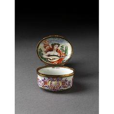 Snuff box | Doccia porcelain factory | ca 1750 made