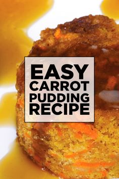 This carrot pudding is so delicious. Not only does the sweetness of the carrots combine with cinnamon and orange flavors, but the moist pudding is also drizzled with a brown sugar sauce. Best Carrot Recipe, Carrot Recipes, Egg Recipes, Brunch Recipes, Easy Dinner Recipes, Great Recipes, Healthy Recipes, Cookbook Recipes, Family Recipes