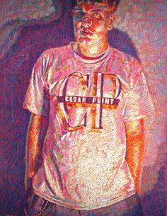 Colored Pencil works of John P. Smolko