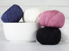 Knit the rainbow! Turn blah cotton yarn into any color (or many colors) with our how-to for prepping cotton yarn for dyeing.