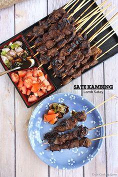 Sate Kambing - Lamb Satay