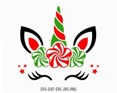 Last Trending Get all images christmas unicorn svg Viral il fullxfull l b Christmas Unicorn, Christmas Vinyl, Christmas Projects, Holiday Crafts, Merry Christmas, Christmas Ornaments, Xmas, Christmas Design, Unicorn Face