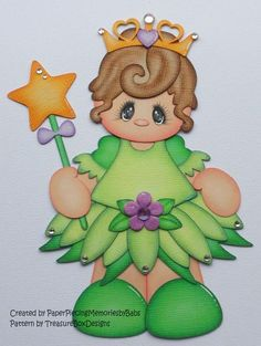 Kiddie Pal in Teddy Fairy Bear Outfit Scrapbook Paper Crafts, Scrapbook Cards, Scrapbook Layouts, Foam Crafts, Crafts To Make, Paper Punch Art, Cute Clipart, Disney Scrapbook, Christmas Projects