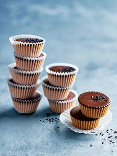 salted chocolate peanut butter cups