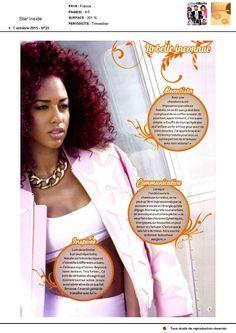 Nathalie La Rose dans Star Inside le 1er octobre 2015 page 2