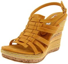 Two Lips Women's Baci Wedge Sandal - (also in tan)