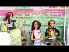 ▶ How to Make a Doll Sweet Shop - YouTube