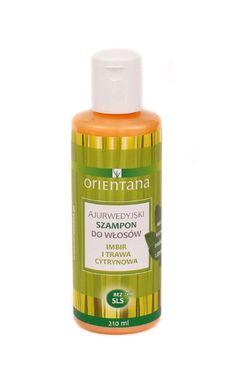 Orientana Ajurwedyjski Szampon do włosów IMBIR I TRAWA CYTRYNOWA. Naturalny szampon do włosów na bazie roślin indyjskich stworzony według formuły ajurwedyjskiej. Nie zawiera SLS/ SLES, silikonów, parabenów, ani innych szkodliwych substancji chemicznych. Nie plącze włosów, nawilża je i odżywia. #shampoo #szampon #orientana #naturalnyszampon #hair