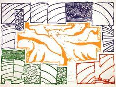 Pierre Alechinsky Tachisme, Nagoya, Art Cobra, Kitsch, Art Premier, Mark Rothko, Tribal Art, Art Journals, Illustrators