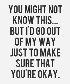 You're Okay - Love Quote