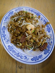 The famous Fried Kuay Teow