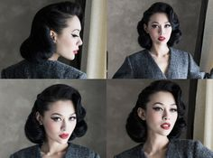 Help recreating this pageboy-esque hairstyle? - Pinup Girl Style