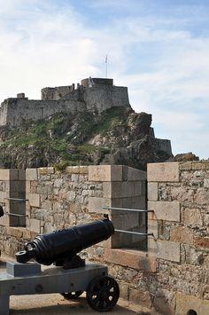 Jersey, St Helier, Channel Islands, Elizabeth Castle