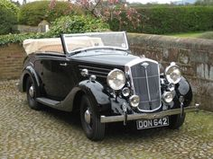 Wolseley 25 DHC Vintage Cars, Antique Cars, Classic Cars British, Bentley Motors, Bus Coach, Good Old, Car Parts, Old Cars, Classic Cars