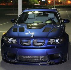BMW E87 1M blue Bmw 3 E46, Bmw 116i, Bmw Cars, My Dream Car, Dream Cars, E46 Touring, 135i, Bmw 1 Series, Custom Cars