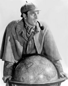 Basil Rathbone as Sherlock Holmes =>> For some NEW adventures with Sherlock Holmes visit Facebook.com/SherlockHolmesZombieSlayer.