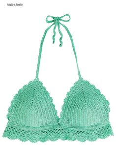 #ClippedOnIssuu da Crochet Bikini Top Manequim