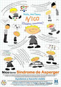 Nico tiene Síndrome de Asperger www.imágeneseducativas.com