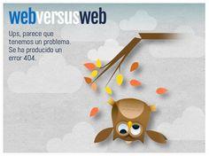Error 404 original. #diseñoweb