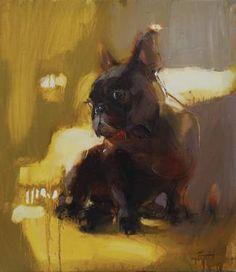 "Iryna Yermolova; Painting, ""Monsieur B"""