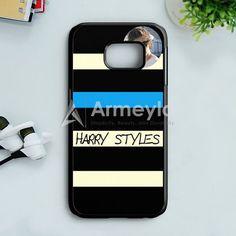 Harry Styles One Direction Cool Photo Samsung Galaxy S7 Edge Case | armeyla.com