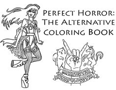"Check out new work on my @Behance portfolio: ""The Perfect Horror Coloring Book"" http://be.net/gallery/32245867/The-Perfect-Horror-Coloring-Book"