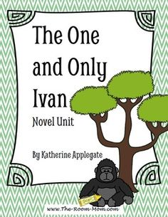 The One and Only Ivan by Katherine Applegate novel unit. Multiple activities-- draw a scene from the story and cut it into pieces like Ivan's painting to help save Ruby. A partner tries to reassemble the pieces.