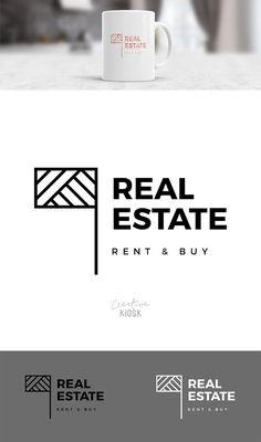 Real Estate Logo. Realtor Logo. Business Logo by CreativeKiosk