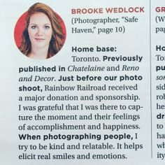 Whoaaaa it's my face! Thanks to for the write up and to for the makeover! Toronto Photographers, Portrait Photographers, I Am Grateful, Thankful, My Life, Editorial, Writing, Face, Blog