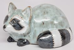 RACCOON by POD of Edgecomb Pottery in Boothbay, Maine New Old Stock VERY CUTE