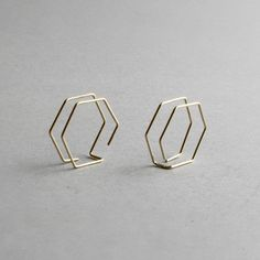 Hexagon Earrings - My Heavenly Atelier 3