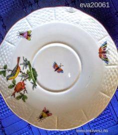 Herendi Rothschild mintás tányér - 7000 Ft - Nézd meg Te is Teszveszen - Dísztányér, falitányér - http://www.teszvesz.hu/item/view/?cod=2366060810