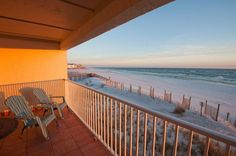 Ocean Front Condo Amazing view of Gulf of Mexico in Seagrove Beach
