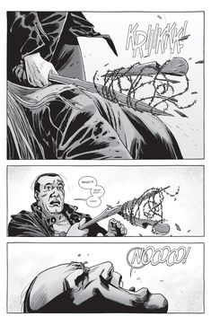 The Walking Dead Issue #159 - Read The Walking Dead Issue #159 comic online in high quality<<I like how he went all BSOD for a second there.