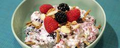 Zero Sugar Diet Yogurt with Fruit and Nuts Recipe | The Chew - ABC.com by David Zinczenko