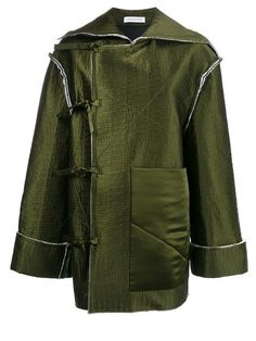 J.W.Anderson off-centre bow fastening jacket