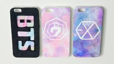 Diy nike phone case must have pink iphone protective designs click through to see more ideas Exo Phone Case, Kpop Phone Cases, Phone Covers, Iphone Cases, Got7, Design Android, Disney Cute, Kpop Diy, Diy Home Decor Rustic