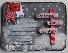 It's all about (remembering) yesterday, today & tomorrow: Jennifer Grace's Frosty Festivities.........
