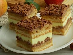 Cake with carrot and ham - Clean Eating Snacks Polish Desserts, Polish Recipes, Pastry Recipes, Cake Recipes, Dessert Recipes, Kolaci I Torte, Layered Desserts, Croatian Recipes, Different Cakes