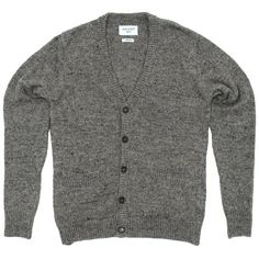 61ea417b7f Our Legacy Knitted Cardigan Grey Melange